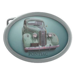1935 PONTIAC BELT BUCKLE