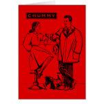 1935 Red Chummy Card