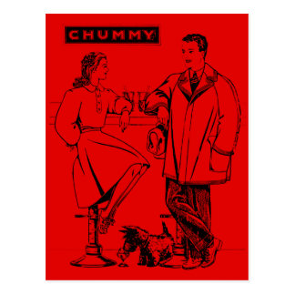 1935 Red Chummy Postcards