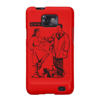 1935 Red Chummy Samsung Galaxy S2 Covers