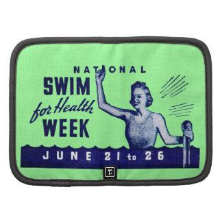 1935 Swim For Health Planner