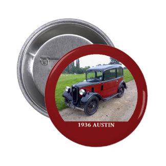 1936 Austin 7 Ruby Button