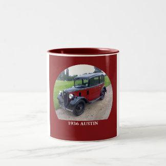 1936 Austin 7 Ruby Two-Tone Coffee Mug