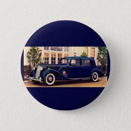 1936 blue Packard Pinback Button