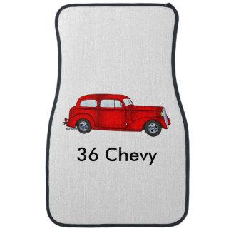 1936 Chevrolet 2 Door Sedan Car Floor Mat