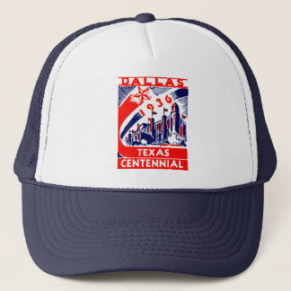 1936 Dallas Texas Centennial Trucker Hat