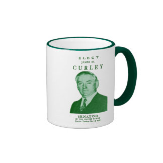 1936 Elect Curley to Congress Mugs