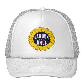 1936 Elect Landon and Knox Mesh Hat