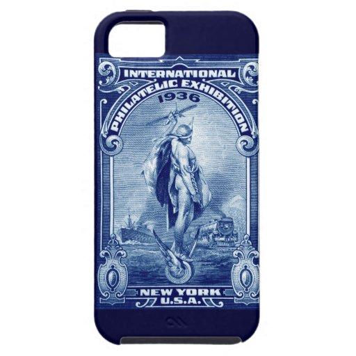 1936 expo filatélica internacional Nueva York iPhone 5 Fundas
