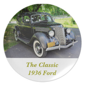 1936 Ford Party Plate