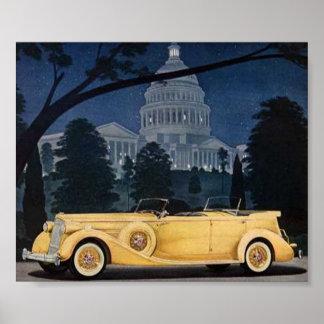 1936 Packard Poster
