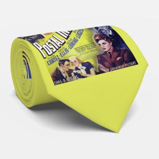 1936 Postal Inspector movie poster print Neck Tie