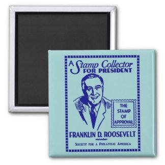 1936 Stamp Collector FDR for President Refrigerator Magnets
