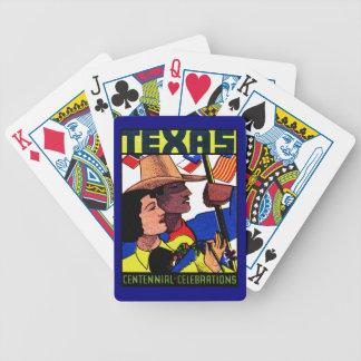 1936 Texas Centennial Bicycle Playing Cards