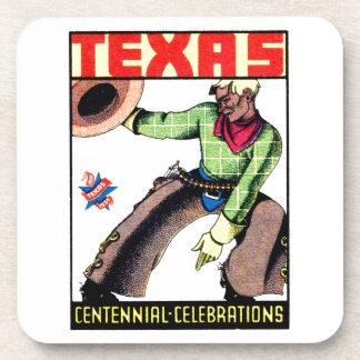 1936 Texas Centennial Drink Coaster
