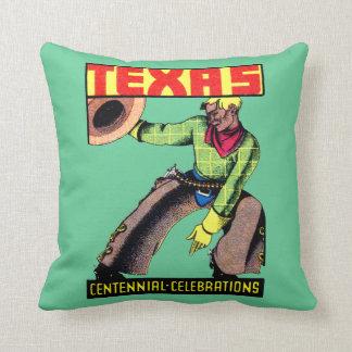 1936 Texas Centennial Pillows