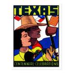1936 Texas Centennial Post Card