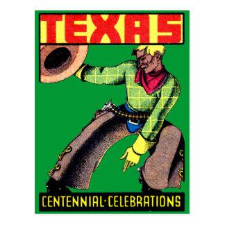1936 Texas Centennial Postcard