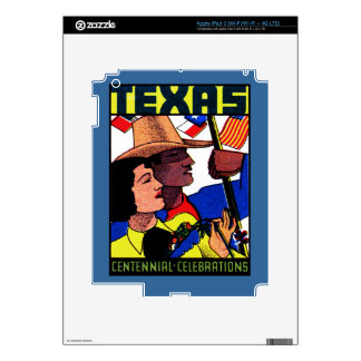 1936 Texas Centennial iPad 3 Skin