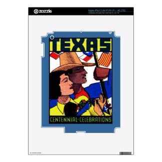 1936 Texas Centennial Skins For iPad 3
