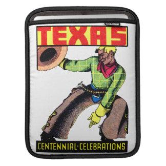 1936 Texas Centennial Sleeves For iPads