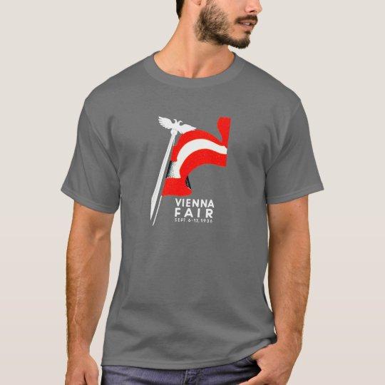 1936 Vienna Fair Poster T-Shirt