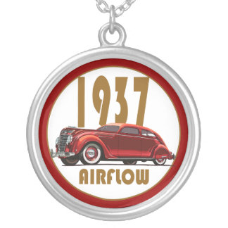 1937 AIRFLOW SILVER PLATED NECKLACE