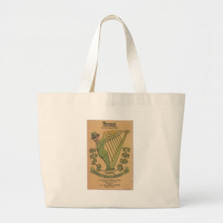 1937 Bernie, The Man in Green Large Tote Bag