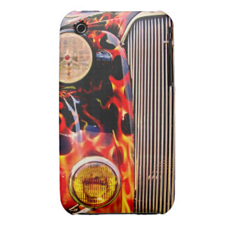 1937 Chevy Master-Flames-iPhone 3g/3gs Case iPhone 3 Case-Mate Cases