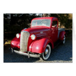 1937 Chevy Pickup Greeting Card