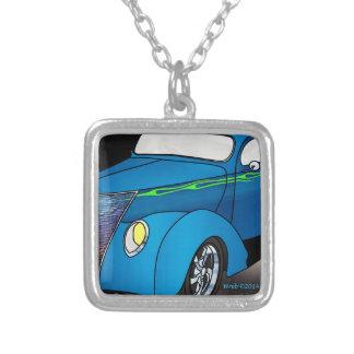 1937 cupé de Minotti Ford - azul Grimpolas