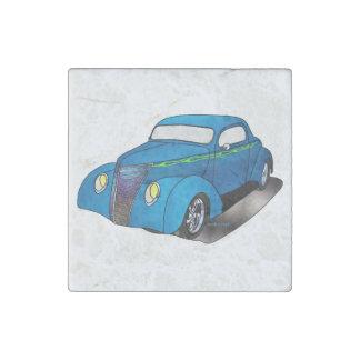 1937 cupé de Minotti Ford - azul Imán De Piedra