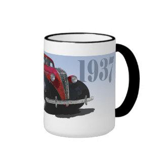 1937 Hudson Terraplane Ringer Coffee Mug