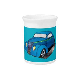 1937 Minotti Ford Coupe -Blue Pitchers