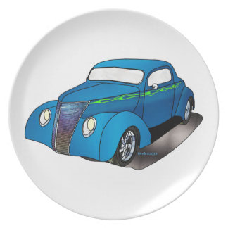 1937 Minotti Ford Coupe Party Plate