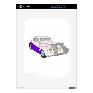 1937 Minotti Ford Coupe - Pearl/Purple iPad 2 Decal