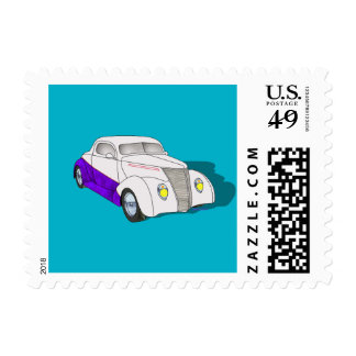 1937 Minotti Ford Coupe Postage