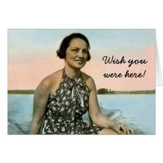 1937 Muskoka PhotoCard card