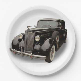 1937 PACKARD 9 INCH PAPER PLATE