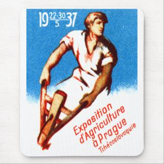 1937 Prague Poster Mouse Pad