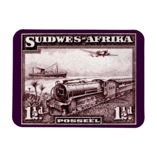 1937 South West Africa Rectangular Photo Magnet