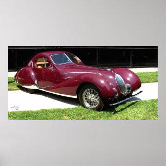 1937 Talbot Lago T150SS Print