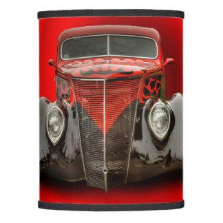 1937 VINTAGE CAR LAMP SHADE