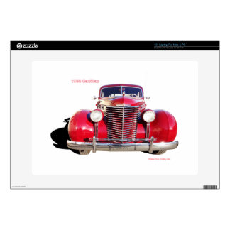 """1938 Cadillac """"red"""" 15"""" Laptop Decal"""
