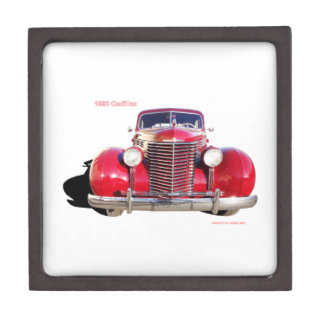 """1938 Cadillac """"red"""" Premium Gift Boxes"""