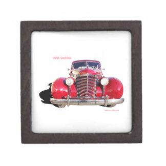 "1938 Cadillac ""red"" Premium Jewelry Box"