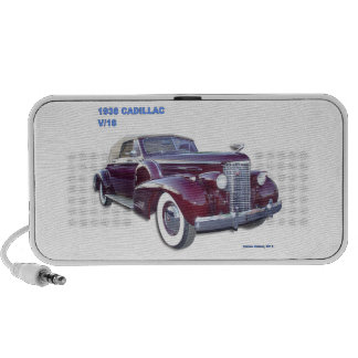 1938 CADILLAC V-16 MP3 SPEAKER