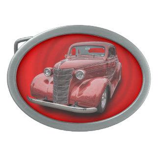 1938 CHEVROLET OVAL BELT BUCKLE