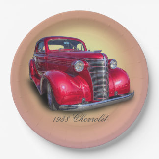 1938 CHEVROLET 9 INCH PAPER PLATE