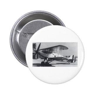 1938 Hawker Fury MkI 2 Inch Round Button
